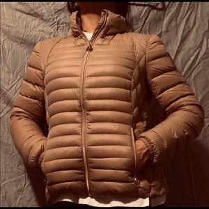 Michael Kors puffer jacket.